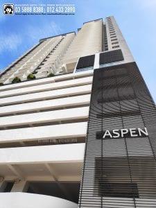 Aspen Residence Condo, TIME, Maxis, Unifi