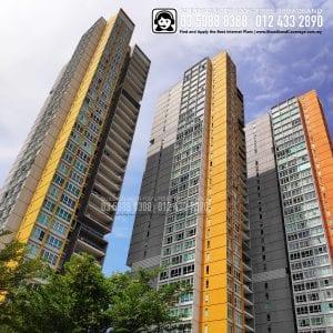 Central Park Condo,TIME, Maxis, Unifi