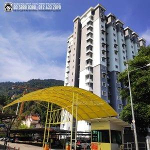 Permai Jaya Apartment, TIME, Maxis, Unifi
