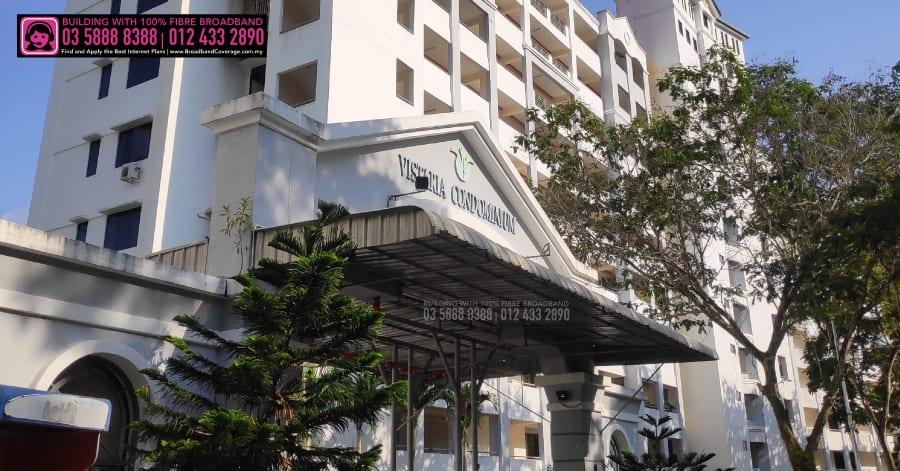 Vista Condominium, maxis, time internets, unifi