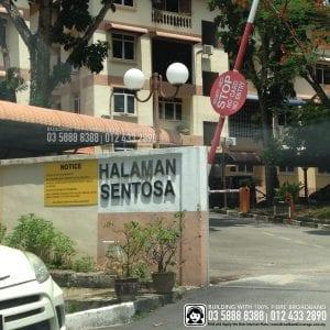 Halaman Sentosa Apartment, TIME, Maxis, Unifi