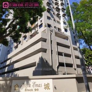 Kota Emas Apartment, TIME, Maxis, Unifi