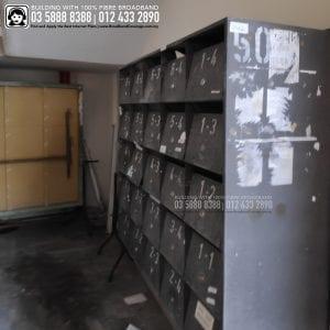 Lahat Court Apartment, TIME, Maxis, Unifi