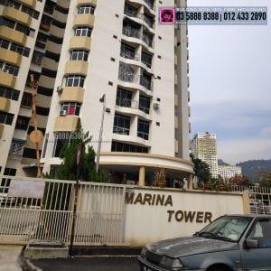 Marina Tower Condominium, TIME, Maxis, Unifi