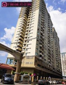 Sri Kristal Apartment, TIME, Maxis, Unifi