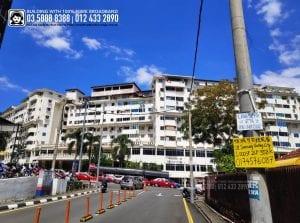 Taman Bukit Bendera Apartment, TIME, Maxis, Unifi